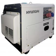 Дизельный генератор Hyundai DHY 8500 SE-T